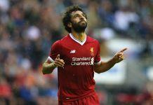 Salah, jogador muçulmano da seleção do Egito e do Liverpool