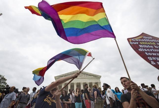 Bandeira do arco-íris, símbolo dos gays
