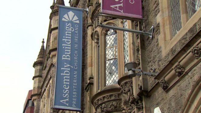 Assembleia da Igreja Presbiteriana da Irlanda, em Belfast