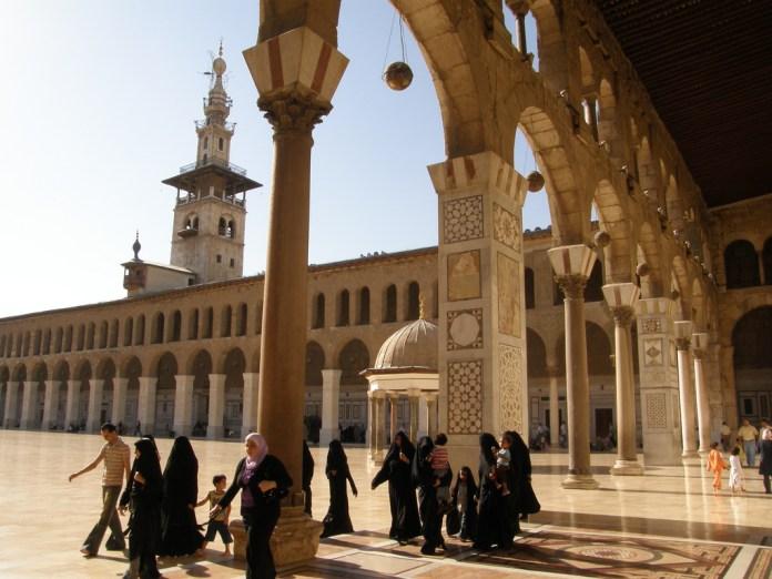 Mesquita na Síria