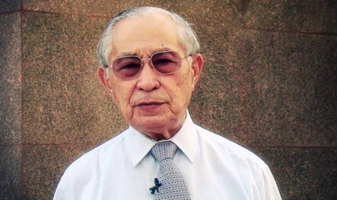 Pastor Antonio Gilberto, faleceu neste dia 30 de julho de 2018, aos 91 anos