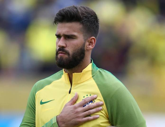 Alisson, goleiro da seleção brasileira na Copa do Mundo 2018