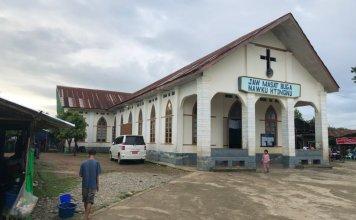 Igreja em Mianmar