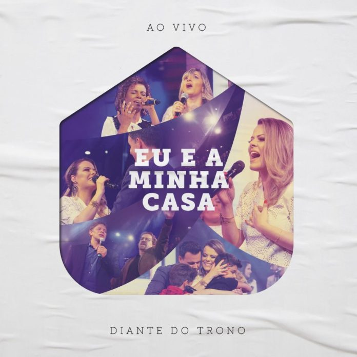 Capa do novo CD do Diante do Trono,