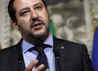 Vice-premiê e ministro do Interior da Itália, Matteo Salvini