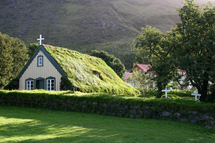 Igreja Evangélica Luterana da Islândia (Foto: Wikipédia)