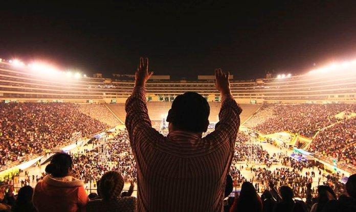 O evento contou com missionários renomados que viajam pelo mundo pregando o Evangelho. (Foto: Divulgação).