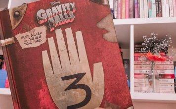"""Capa do livro """"Gravity Falls: Diário Perdido"""", da Disney. (Foto: Em Cada Página)"""