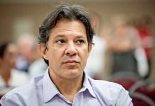Fernando Haddad, candidato a Presidência do Brasil em 2018 pelo PT