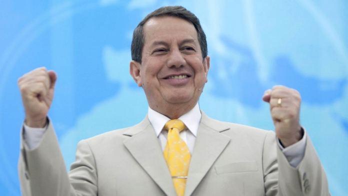 Pastor R. R. Soares, líder e fundador da Igreja Internacional da Graça de Deus