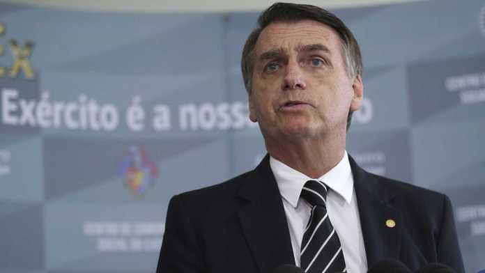Jari Bolsonaro, presidente do Brasil eleito em 2018