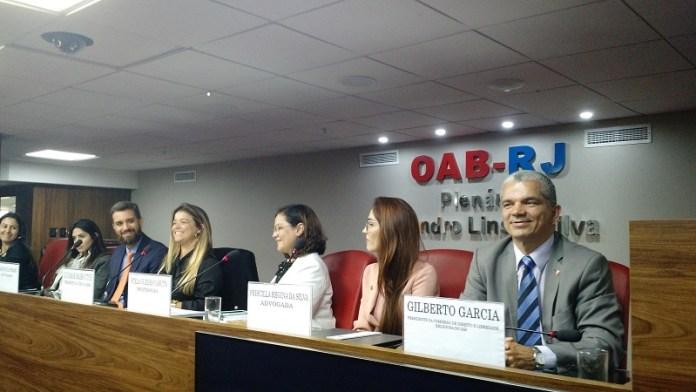 """Dr. Gilberto Garcia participou do evento """"Linguagem das crianças no âmbito jurídico: razões para o respeito e consequências da intolerância"""", promovido pela Comissão de Combate à Intolerância Religiosa da OAB/RJ"""