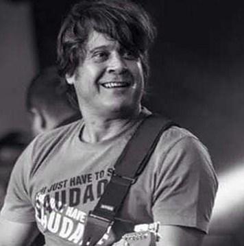 Guitarrista Sérgio Knust, morreu em um acidente de automóvel