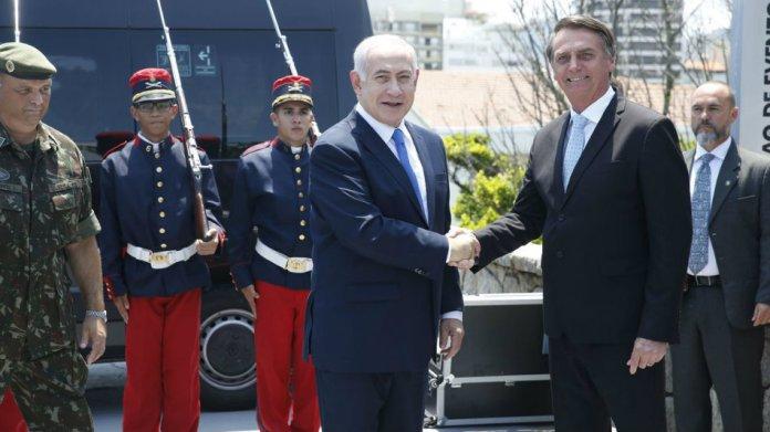 Bolsonaro e Netanyahu se encontram no Rio de Janeiro (Foto Fernando Frazão/Agência Brasil 28/12/2018)