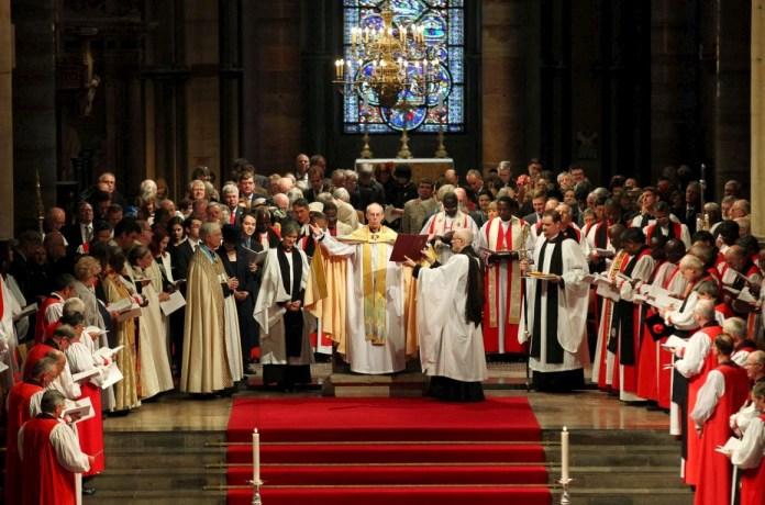Bispos da Igreja Anglicana da Inglaterra
