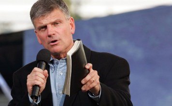 Franklin Graham, evangelista americano, filho do saudoso Billy Graham