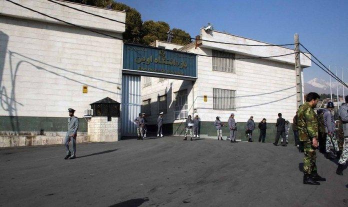 Prisão de Evin, a noroeste do Teerã, no Irã. (Foto: Wikimedia Commons)