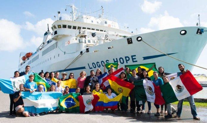 Maior livraria flutuante do mundo chega ao Brasil em agosto. (Foto: Operation Mobilisation)