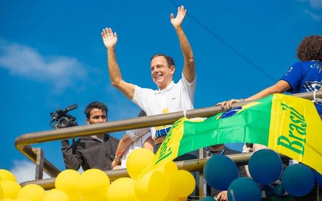 João Doria, governador de São Paulo, na Marcha para Jesus 2019