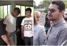 Lucas e Flávio são réus pela morte do pastor Anderson do Carmo Foto: Reprodução