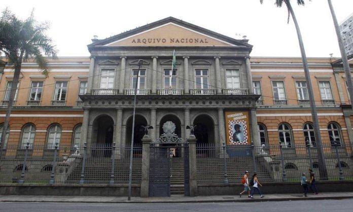 Prédio do Arquivo Nacional no Rio de Janeiro