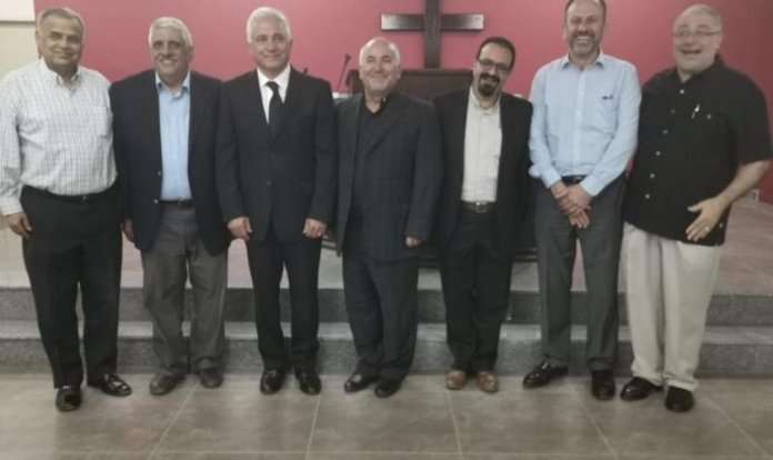 Líderes evangélicos da Jordânia. (Foto: Reprodução/Ammannet)
