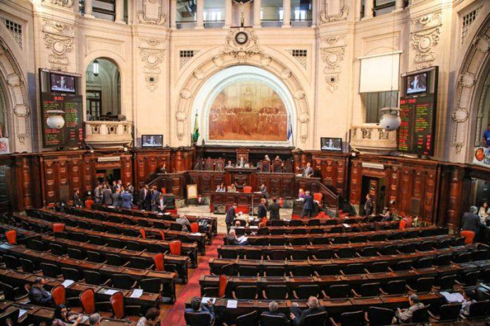 Plenário da Assembleia Legislativa do Rio de Janeiro (Alerj) (Bárbara Lopes/Agência O Globo)