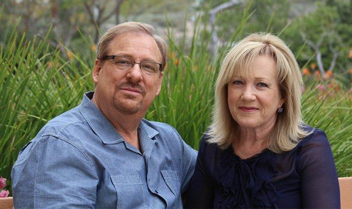 Rick Warren e sua esposa Kay. (Foto: Reprodução/Saddleback)