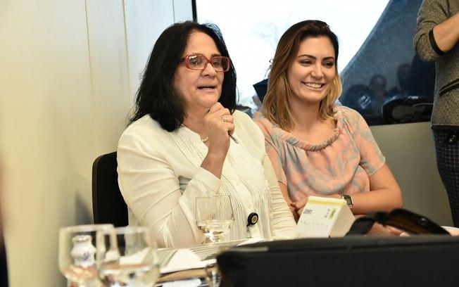 Damares Alves e Michelle Bolsonaro