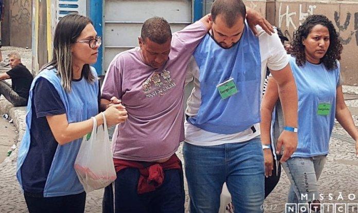 Várias pessoas decidiram deixar a Cracolândia e receber ajuda em comunidades terapêuticas. (Foto: Rádio Trans Mundial)