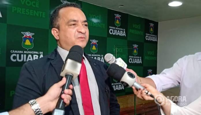 Vereador Marcrean Santos – Foto: Rafael Medeiros / AGORA MATO GROSSO