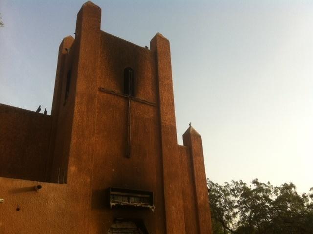 Igreja incendiada na Nigéria