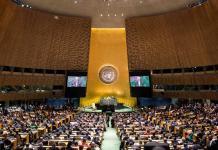 Sede da ONU, nos Estados Unidos
