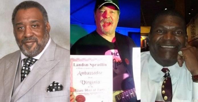 Pastores que morreram por coronavírus (da esq. para dir.): Rev. Isaac Graham, 66 anos. Landon Spradlin, 66 anos e Ronnie Hampton.