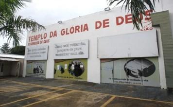 Igreja Assembleia de Deus da Vila Redenção, em Aparecida de Goiânia (Foto: Douglas Schinatto - O Popular)