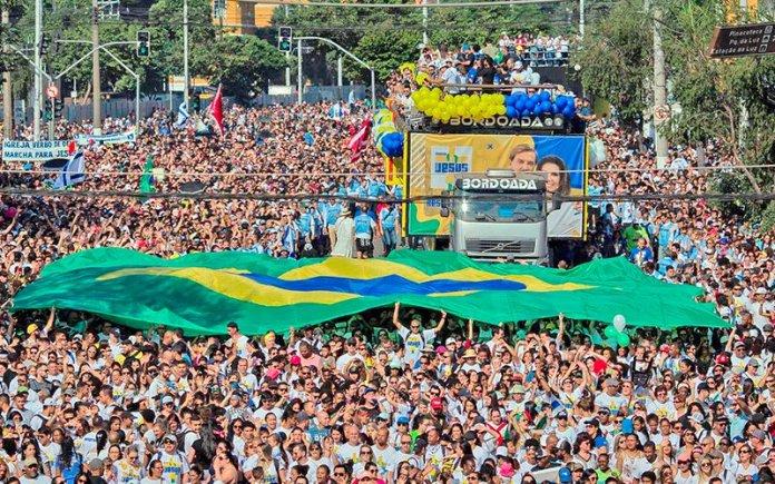 Marcha para Jesus 2019 em São Paulo