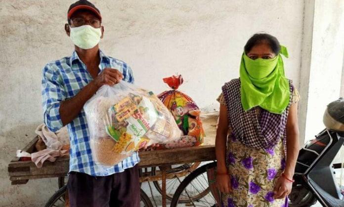 Cristãos indianos são assistidos em época de quarentena contra a COVID-19