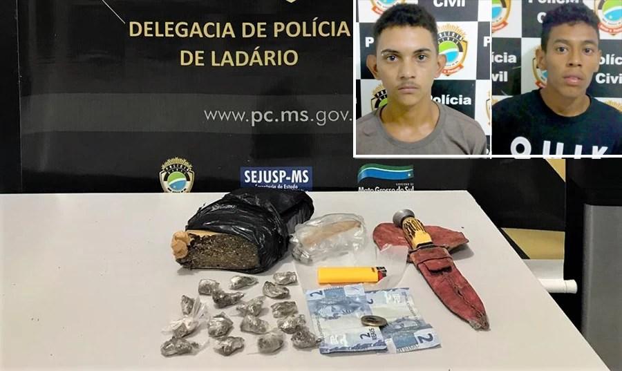 Read more about the article Disque-denúncia leva Polícia Civil a prender traficantes no centro de Ladário
