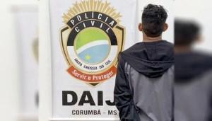 Read more about the article Acusado de estuprar e engravidar menina de 12 anos é preso pela Polícia Civil de Corumbá