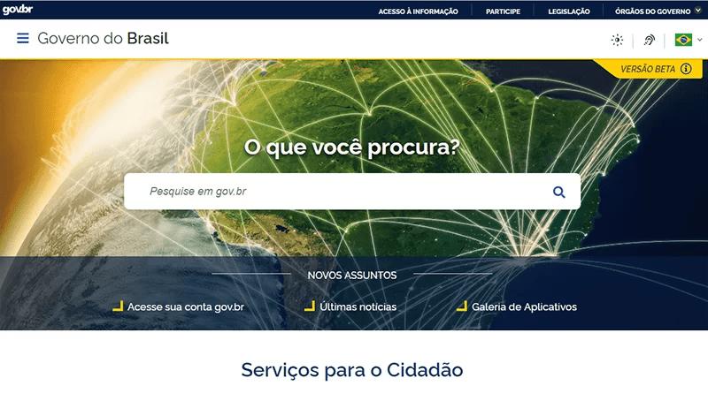 Read more about the article Portal único do governo já está disponível na internet