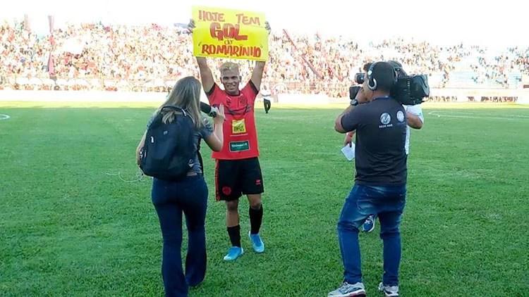 Read more about the article Revelado na base do Corumbaense Romarinho vira ídolo e comemora título em MG