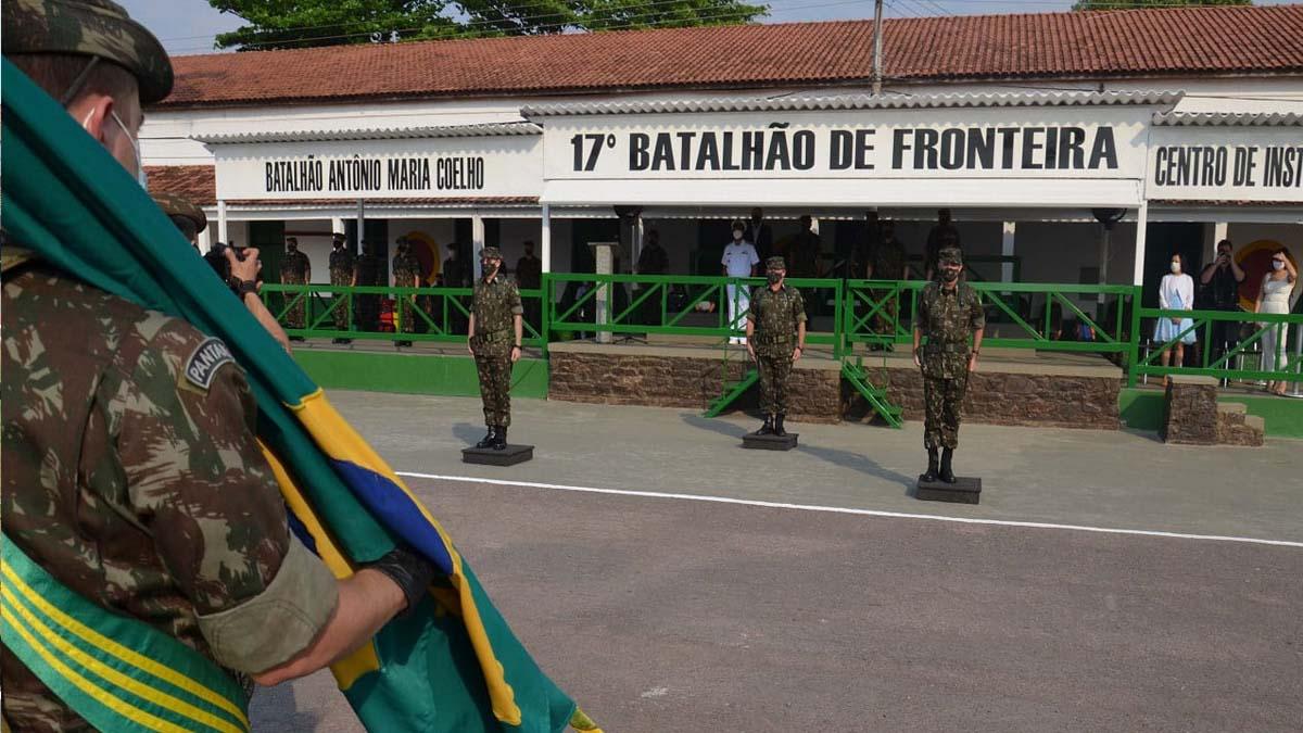 Read more about the article Solenidade marca troca do comando da 18ª Brigada de Infantaria de Fronteira