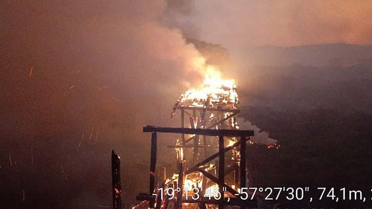 Read more about the article Agesul anuncia reconstrução emergencial de ponte queimada no Porto da Manga