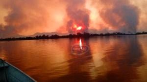 Read more about the article Ribeirinhos e brigadistas atingidos por chuva de fuligem no Pantanal vão receber atendimento médico
