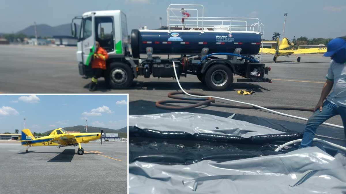 Read more about the article Duas aeronaves chegam em Corumbá para reforçar combate às queimadas no Pantanal