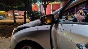 Read more about the article Casal é executado com mais de 100 tiros em frente a cassino na fronteira em MS