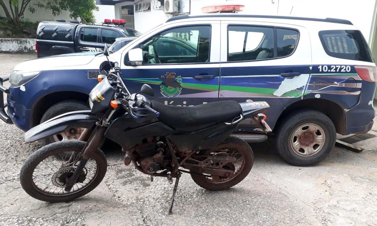 Read more about the article Polícia Militar recupera motocicleta furtada no bairro Popular Velha