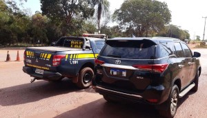 Read more about the article Caminhonete furtada em Minas Gerais é recuperada pela PRF em Corumbá