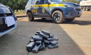 Read more about the article Casal transportava drogas em carro junto com filhos de 1 e 3 anos na BR-262
