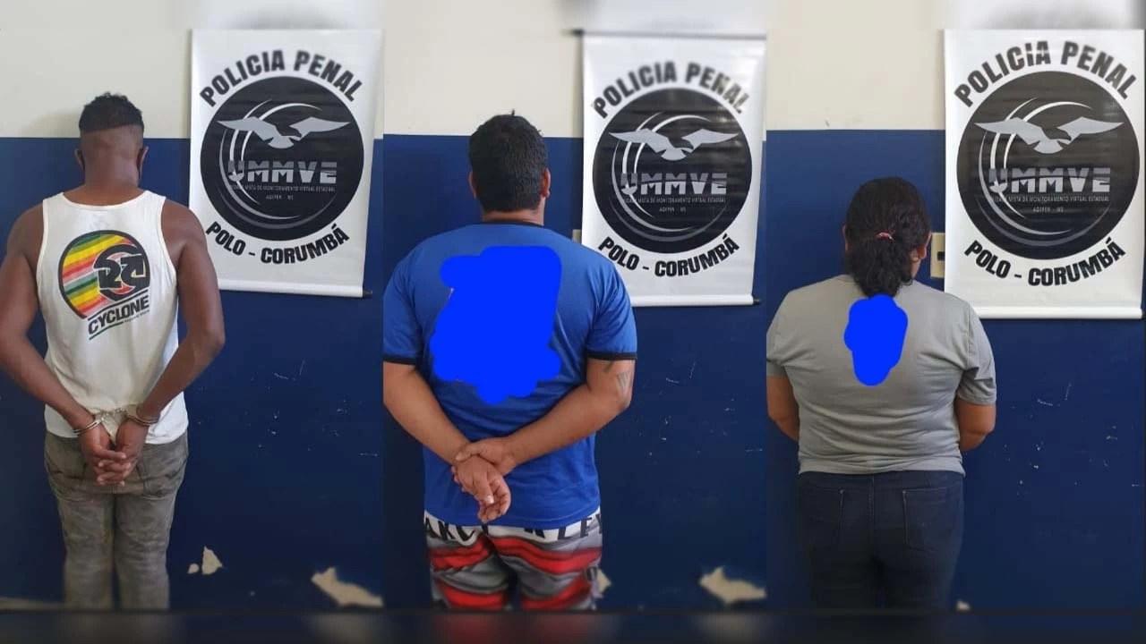 Read more about the article Três são presos pela Polícia Penal por descumprimento de medidas judiciais em Corumbá